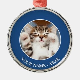 Kitten On My Lap Christmas Ornament