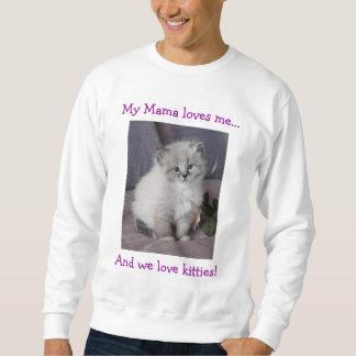 Kitten On Shirt