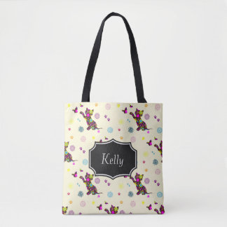 Kitten Pattern Bag