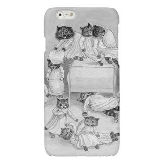 Kitten Pillow Fight! Louis Wain iphone6 Case iPhone 6 Plus Case