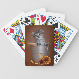 Kitten Playing Cards