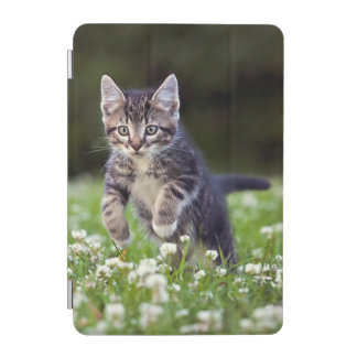 Kitten Running Through Clover iPad Mini Cover