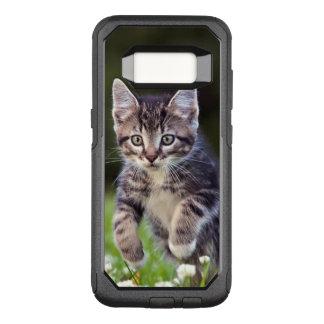Kitten Running Through Clover OtterBox Commuter Samsung Galaxy S8 Case