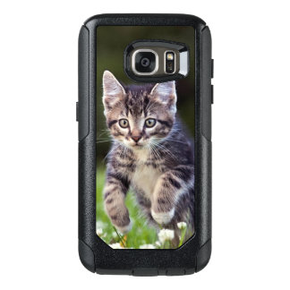 Kitten Running Through Clover OtterBox Samsung Galaxy S7 Case