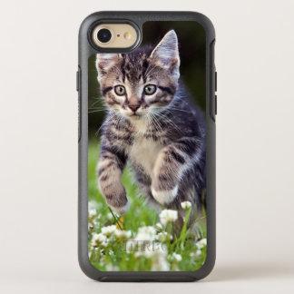 Kitten Running Through Clover OtterBox Symmetry iPhone 8/7 Case