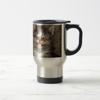 Kitten Smile Travel Mug