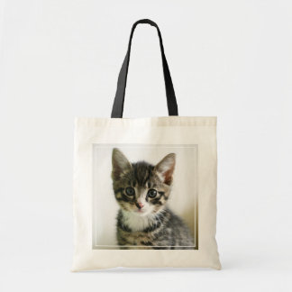 Kitten Stare Tote Bag