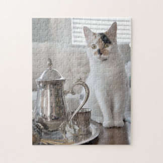 Kitten Tea Party Puzzle