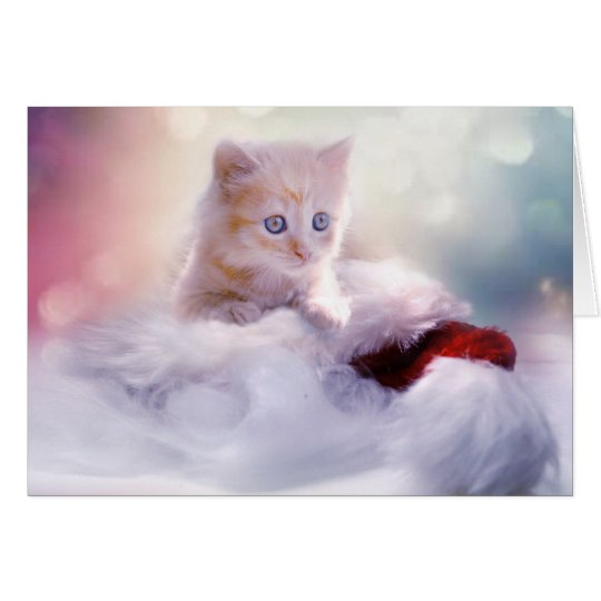 Kitten to the Rescue Christmas Card