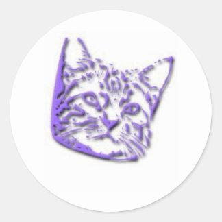 Kitten Tshirts and Gifts 314 Round Sticker