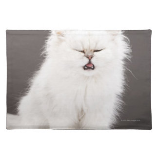 Kitten with Eyes Closed Placemat