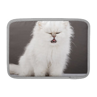 Kitten with Eyes Closed Sleeves For MacBook Air