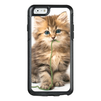Kitten With Green Yarn OtterBox iPhone 6/6s Case