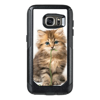 Kitten With Green Yarn OtterBox Samsung Galaxy S7 Case