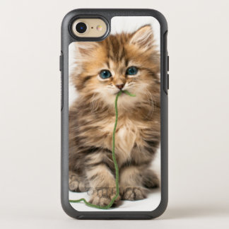 Kitten With Green Yarn OtterBox Symmetry iPhone 8/7 Case