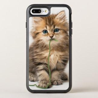 Kitten With Green Yarn OtterBox Symmetry iPhone 8 Plus/7 Plus Case