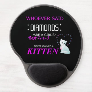 Kittens Are My bff Gel Mousepad Gel Mouse Mat