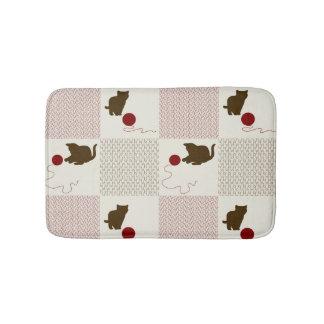 Kittens Backgrounds Bath Mat