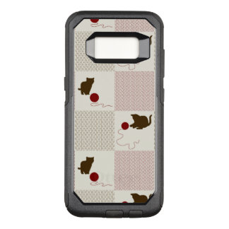 Kittens Backgrounds OtterBox Commuter Samsung Galaxy S8 Case