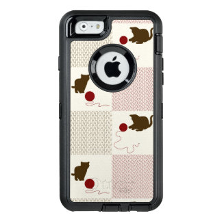 Kittens Backgrounds OtterBox Defender iPhone Case