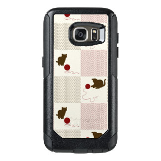 Kittens Backgrounds OtterBox Samsung Galaxy S7 Case