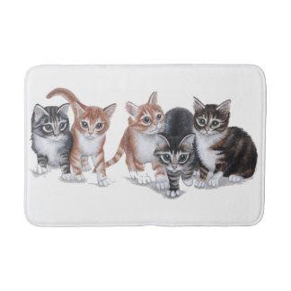 kittens bath mat