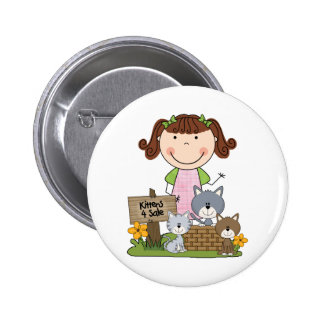 Kittens For Sale 6 Cm Round Badge