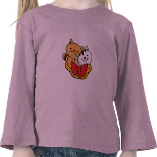 Kittens in Basket Tshirts and Gifts