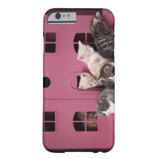 Kittens in doll's house barely there iPhone 6 case