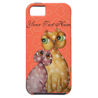 Kittens in Love Hearts iPhone 5 Case