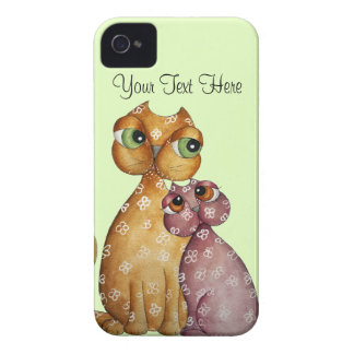 Kittens in Love iPhone 4 Case