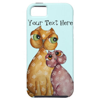 Kittens in Love iPhone 5 Case
