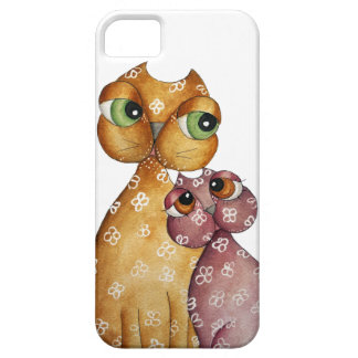 Kittens in Love White iPhone 5 Case