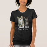 Kittens Ladies T-Shirt