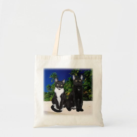 Kittens on Beach Tote bag