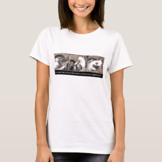 Kittens playing in a box T-Shirt