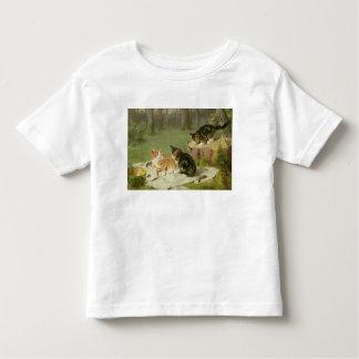 Kittens Playing Toddler T-Shirt