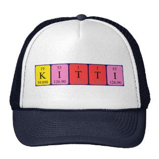 Kitti periodic table name hat
