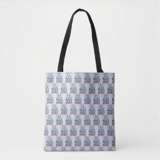 Kitties All-Over-Print Tote Bag Medium