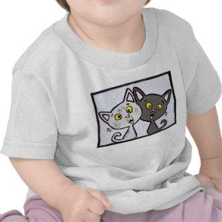 Kitties! Baby t-shirt
