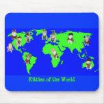 Kitties of the World Mousepad