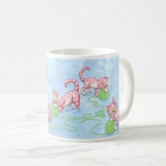 Kittipurra Pink Coffee Mug
