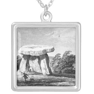 Kitts Cotty House Square Pendant Necklace