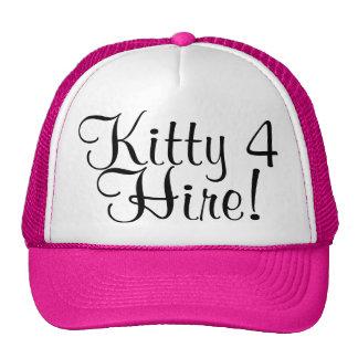 Kitty 4 Hire! Cap