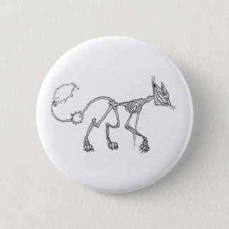Kitty 6 Cm Round Badge
