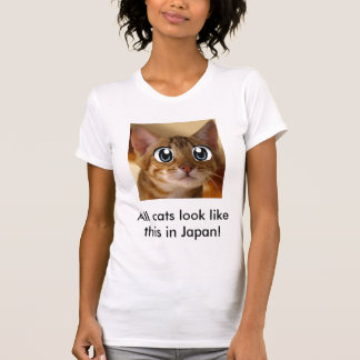 kitty, All cats look like this in Japan! T-Shirt