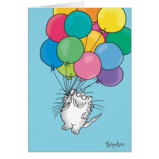 KITTY ALOFT Birthday Card
