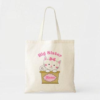 Kitty Big Sister Tote Bag
