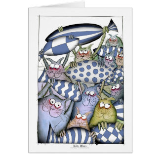 kitty blues card