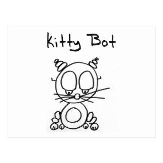 Kitty Bot Postcard